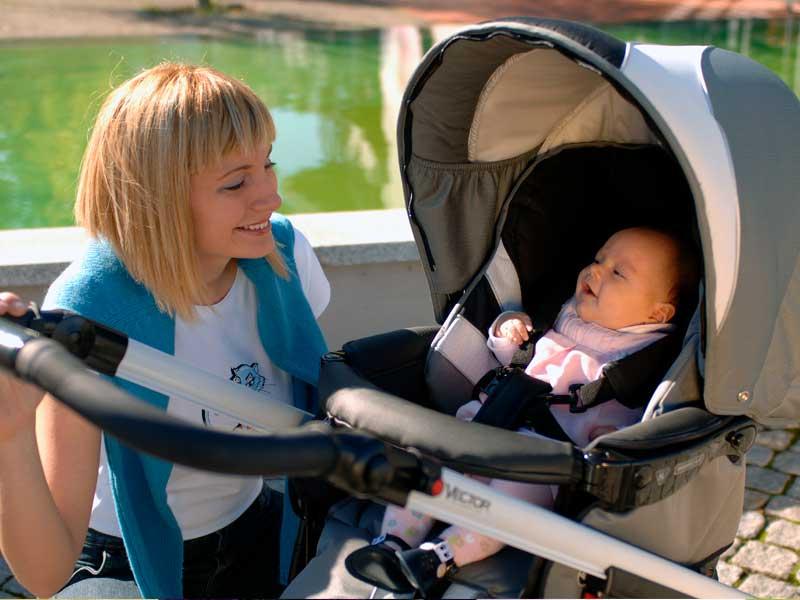 Прогулочная коляска для новорожденного: виды и критерии выбора