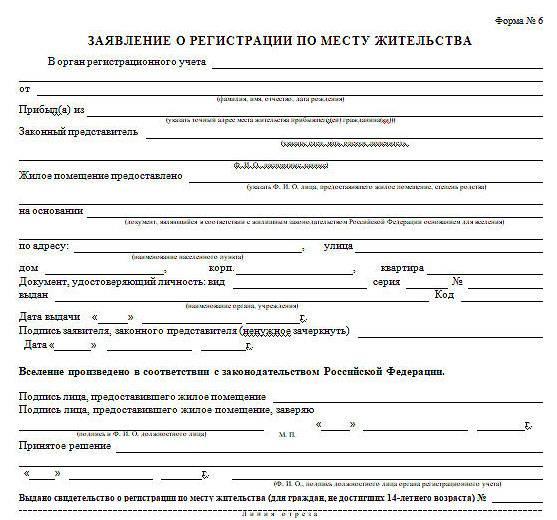 Какие документы нужны для временной регистрации ребенка?