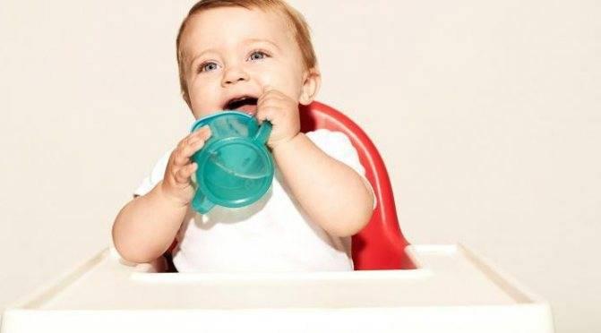 Как научить ребенка пить из поильника и в каком возрасте нужен поильник