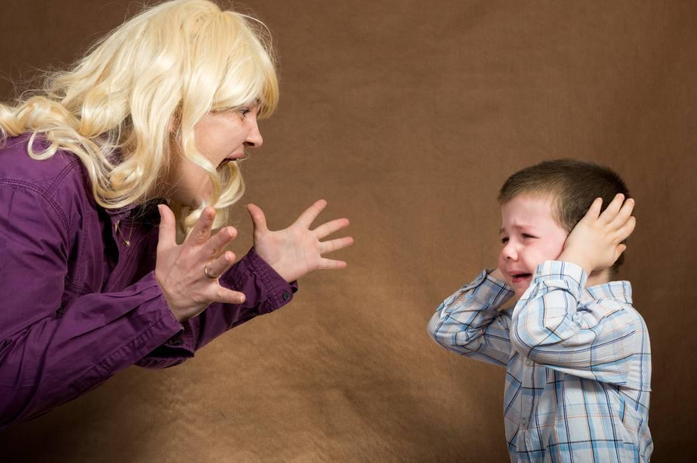 Как перестать кричать на ребенка, советы психолога