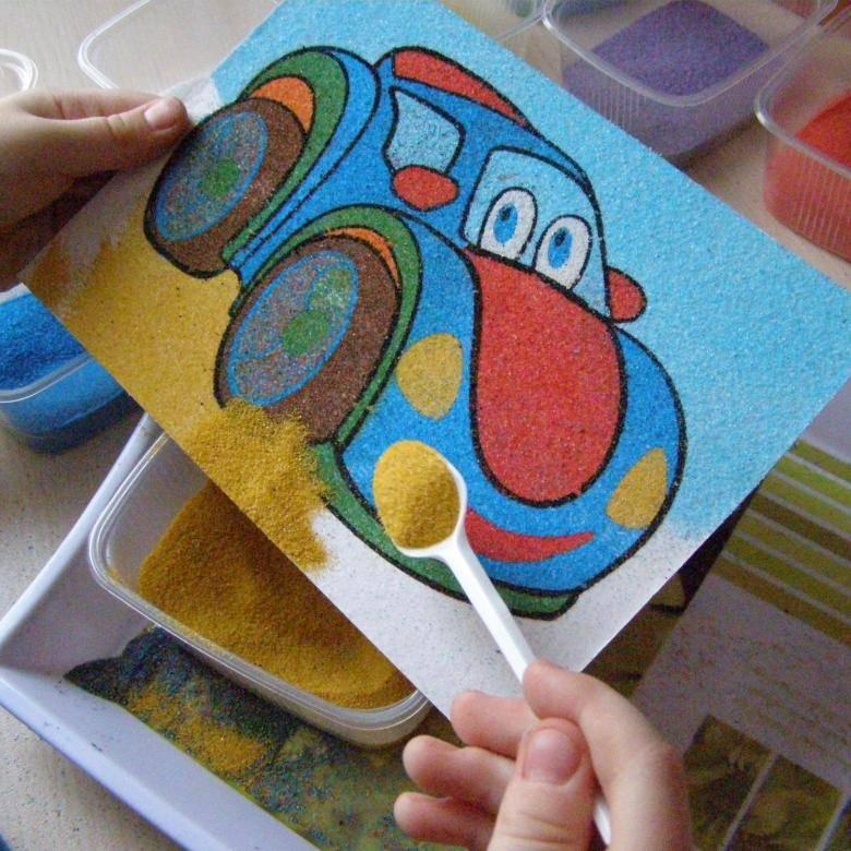 Конспект занятия «цветной песок». воспитателям детских садов, школьным учителям и педагогам - маам.ру
