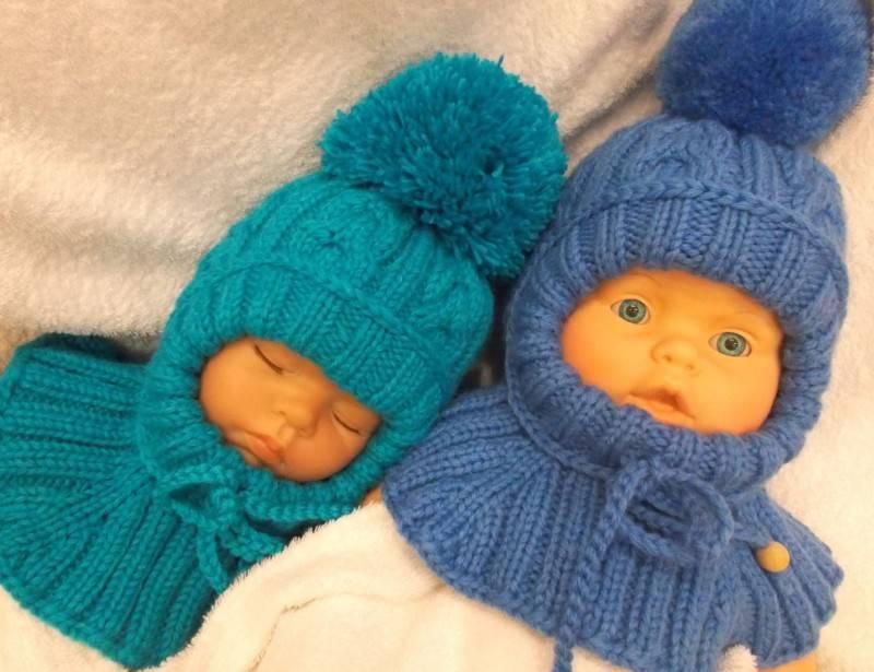 Шапочки для новорожденных спицами: схемы с описанием