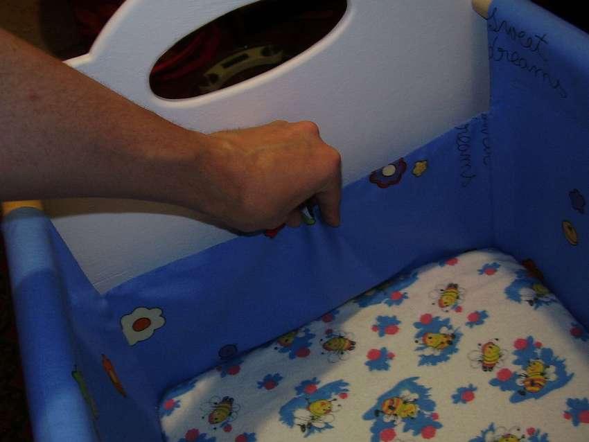 Кроватка для новорожденного своими руками