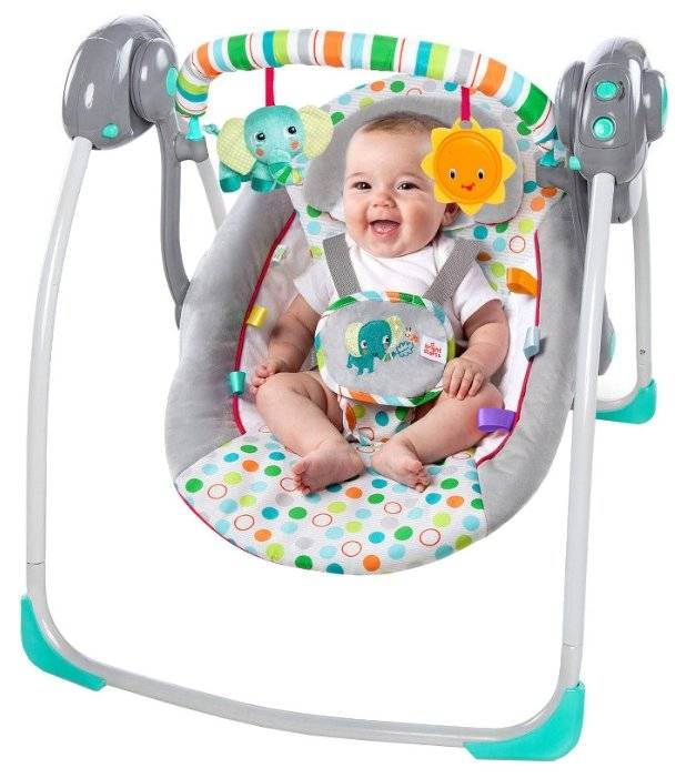 Выбираем лучшие электронные качели для новорожденных   zdavnews.ru