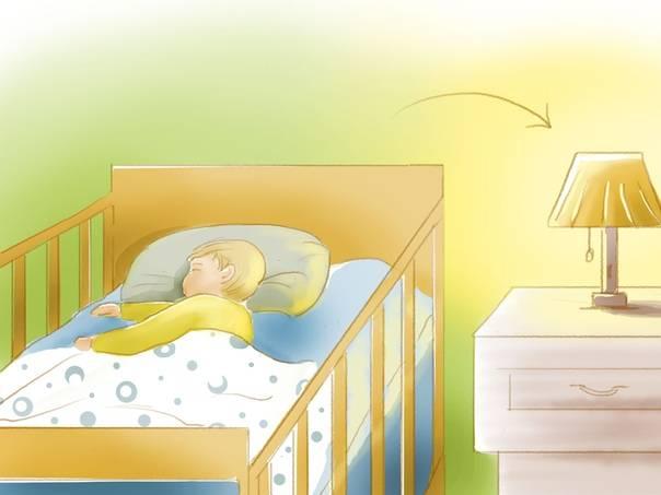 Как приучить ребенка спать в своей кровати