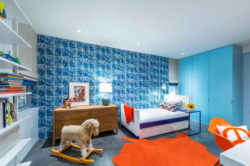 Дизайн детской комнаты для мальчика   идеи (+45 фото)