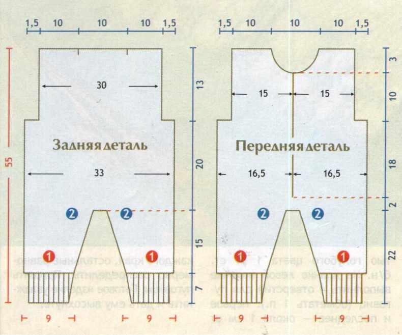 Как связать комбинезон спицами для новорожденного (от 0 до 10 месяцев): схема, описание работы