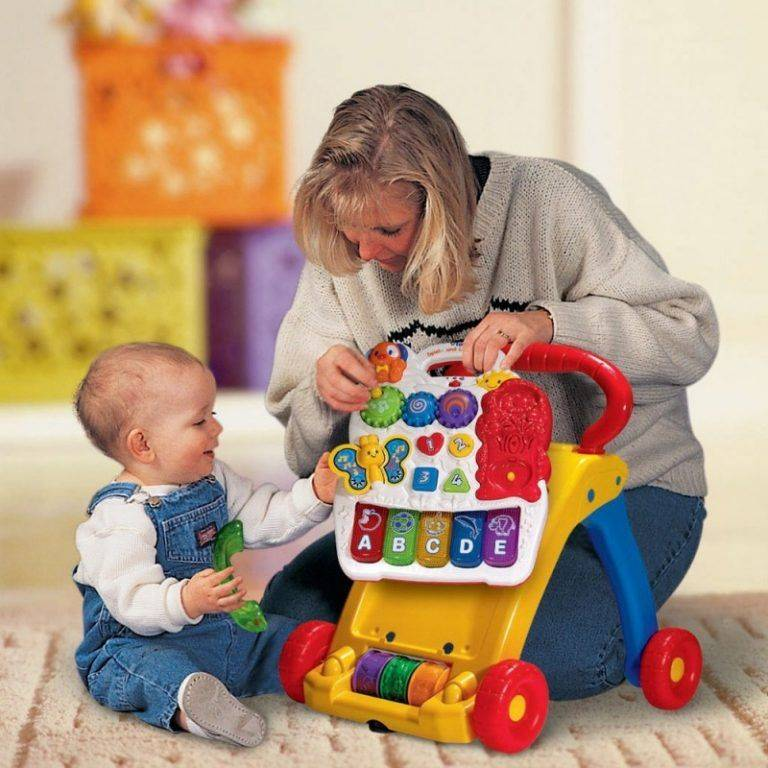 Развивающие игры с детьми: рекомендации родителям детей 4-5 месяцев