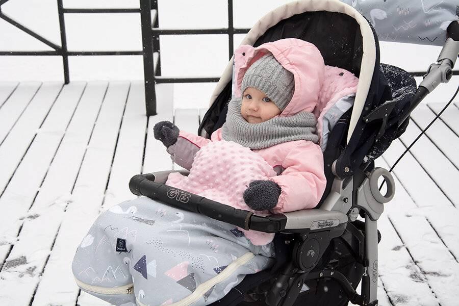 Зимние коляски для новорожденных: как выбрать детскую коляску для зимы