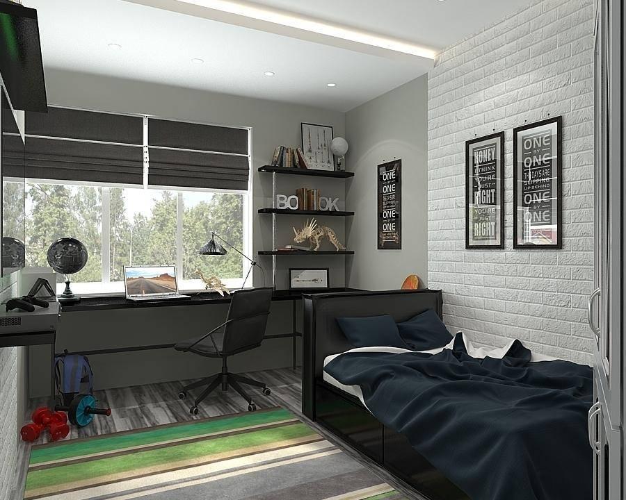 Комната для мальчика подростка: выбор дизайна интерьера и стиля, современные фото