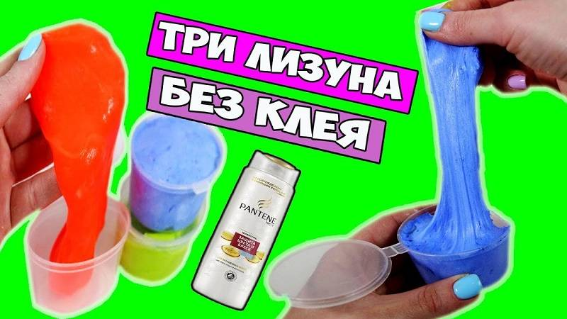 17 простых рецептов слайма из воды