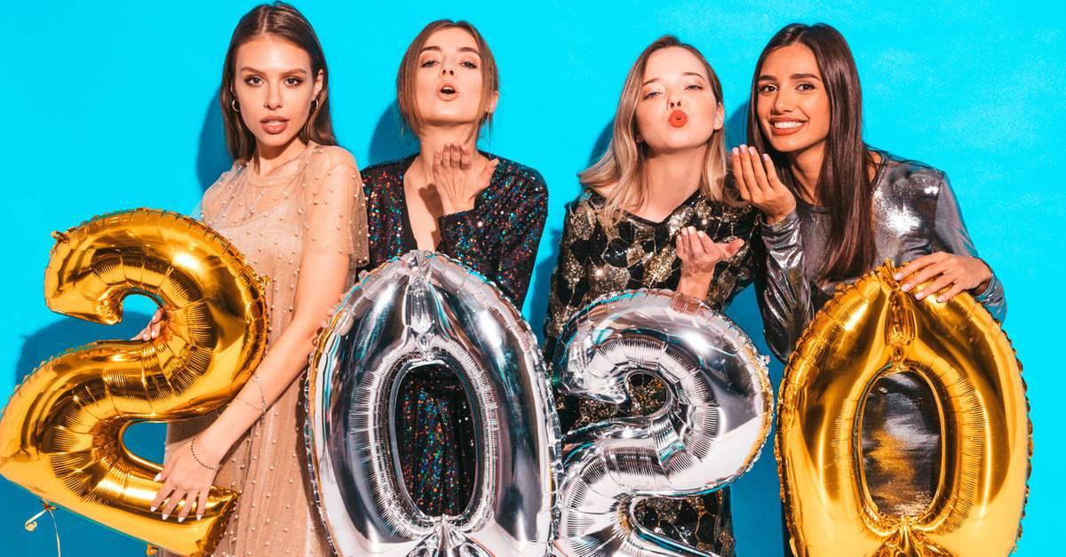 В чем встречать новый год 2020: 100 фото ярких образов