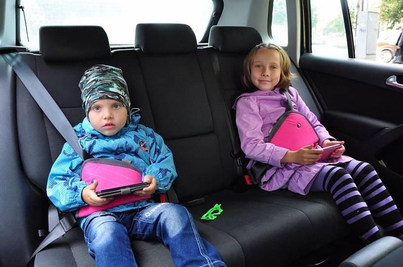 Перевозка детей в автомобиле в 2020 — 2021 году