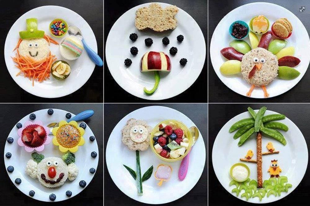 Полезные и вкусные завтраки для годовалого ребенка