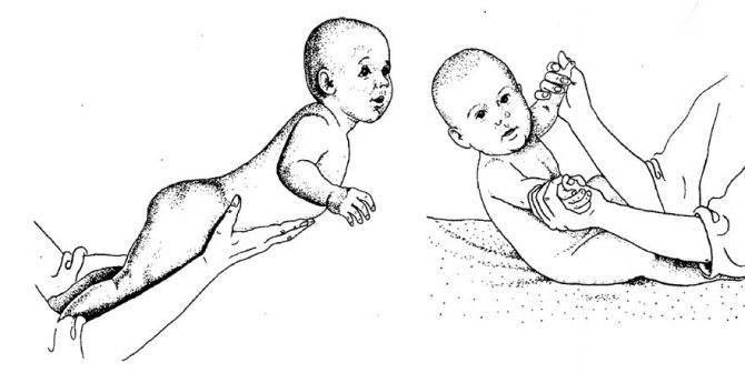 Упражнения чтобы ребенок начал держать головку самостоятельно. как помочь младенцу научится поднимать и удерживать голову