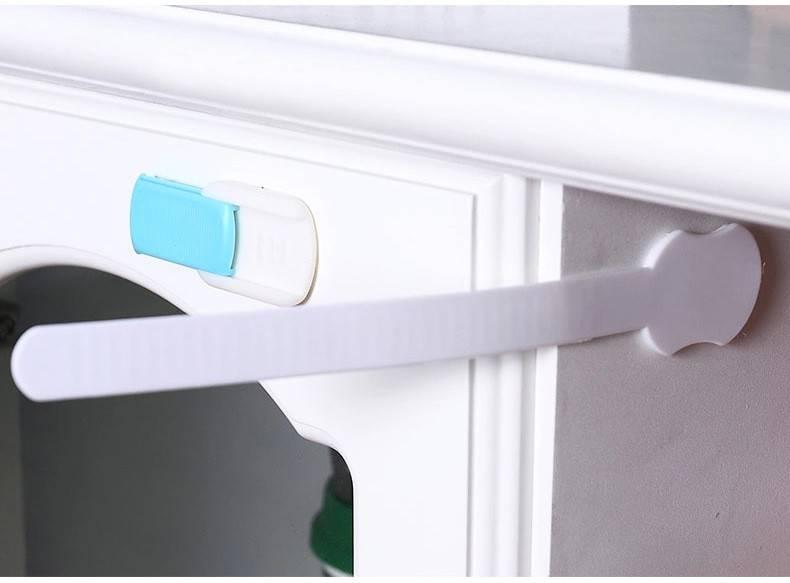 Защита от детей на ящики и шкафы, какие бывают и как правильно крепятся