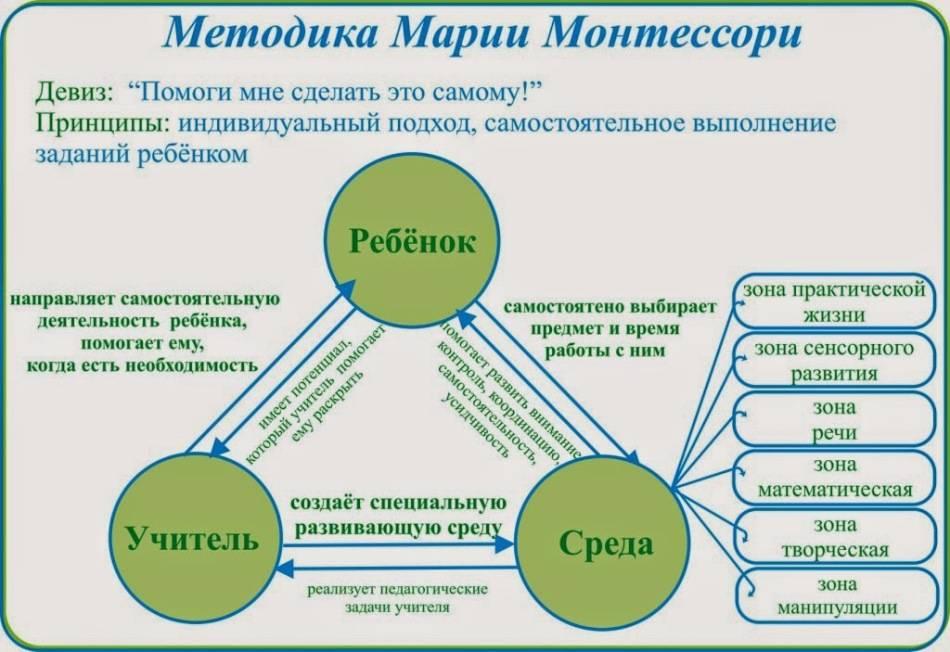 Система педагогики монтессори: основные принципы и суть методики раннего развития монтессори