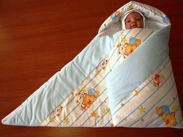 Мастер-классконверт на выписку для новорожденного своими руками (3 варианта)