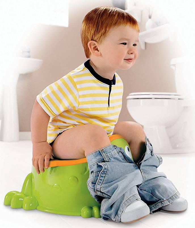 Как и с какого возраста можно приучить ребенка к горшку?