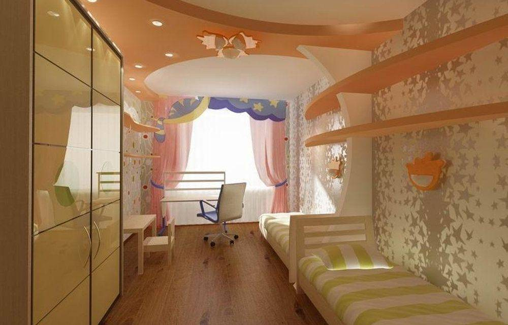 Как обустроить детскую комнату для двух детей