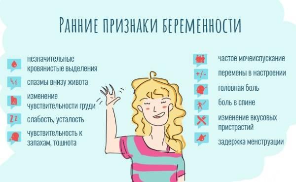 Первые признаки беременности на ранних сроках | гинекологи москвы