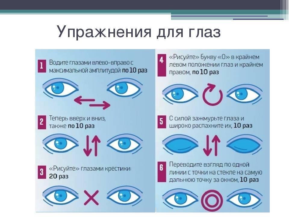 Упражнения для зрения детям: обзор 10 упражнений