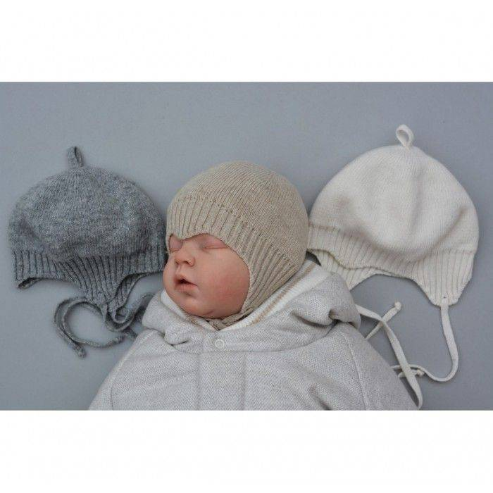 Как связать шапочки спицами для детей от 0 до 3 лет
