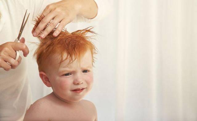 Первый раз стрижем малыша: когда пора и как это сделать правильно