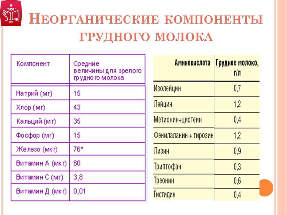 Таблица калорийности молочных продуктов (включая бжу)