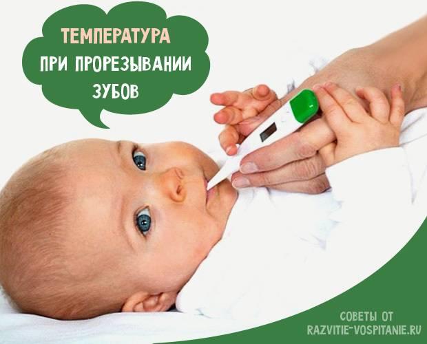 Прорезывание зубов: порядок, сроки, повышенная температура