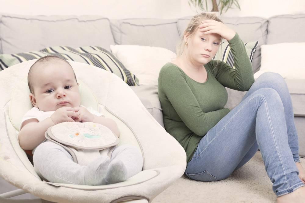 Основные страхи молодых мам