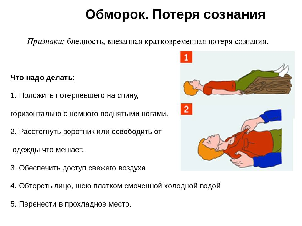 Если ребёнок потерял сознание. первая помощь при обмороках.  ходцевская ясли-сад – средняя школа