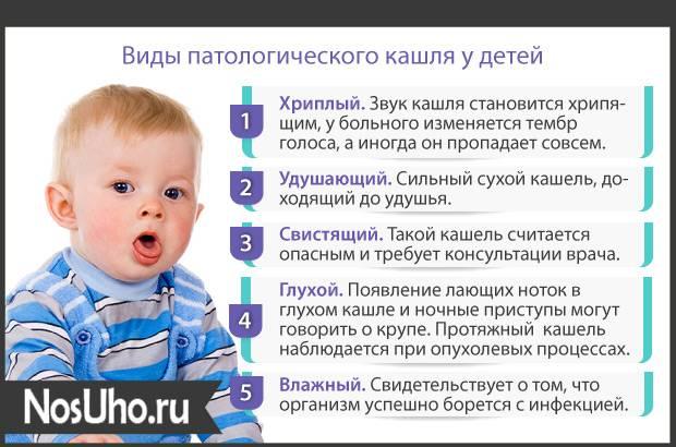 Что делать, если ребенок в 2 года кашляет месяц после орви?