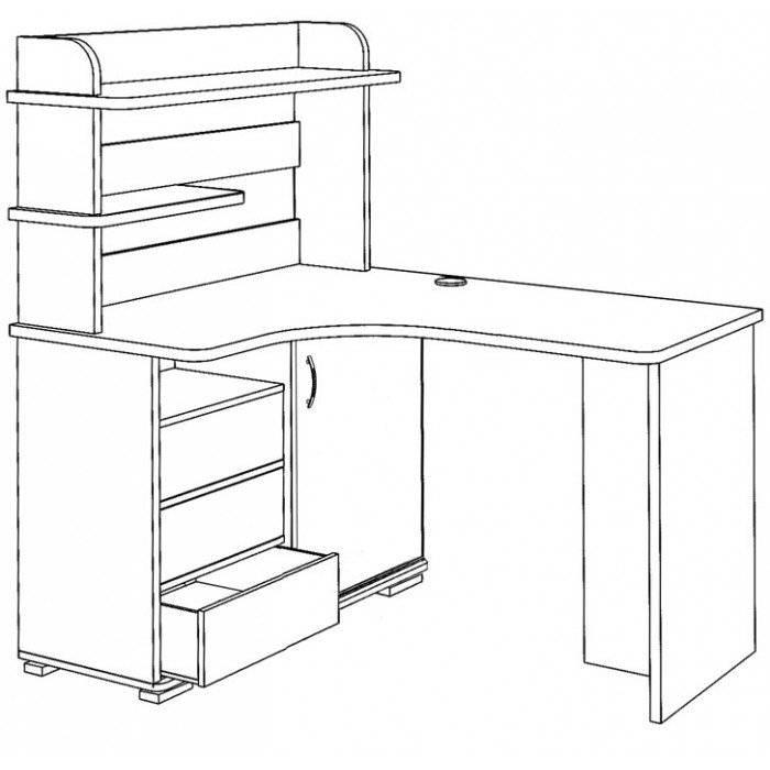 Высота стола для ребенка по росту: таблица
