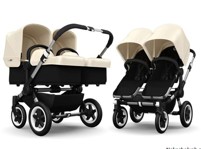 Какая коляска самая легкая для двойни?