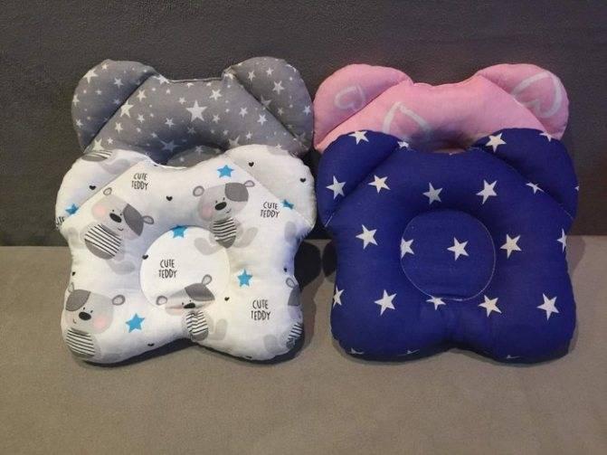 Подушка для ребенка ортопедическая