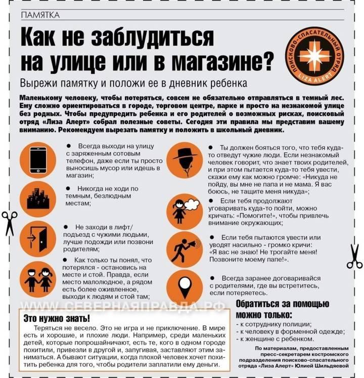 Безопасность детей влесу: еслиребёнокзаблудился