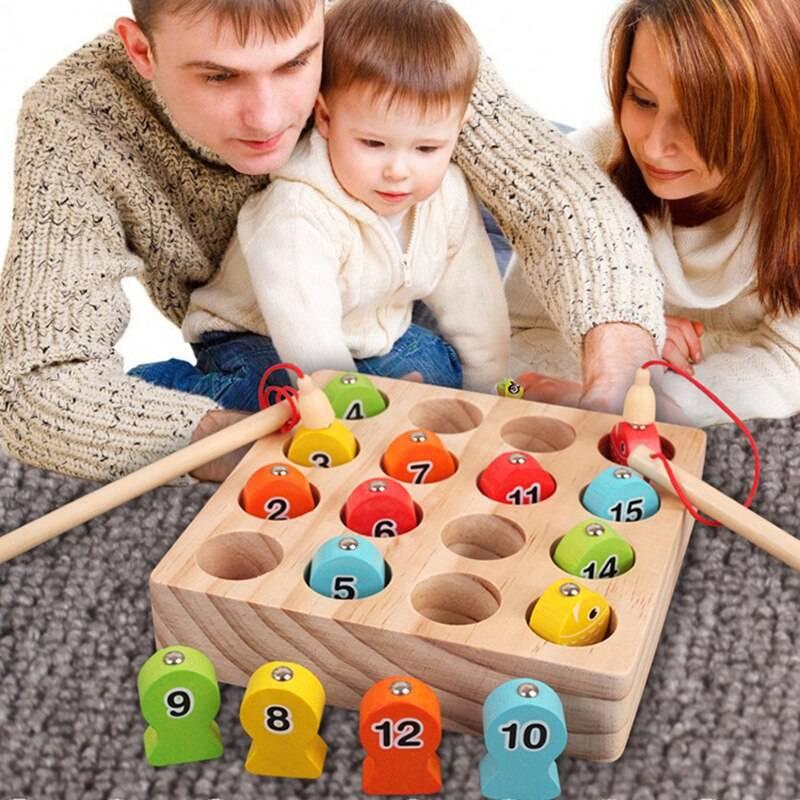 Развивающие игрушки для детей от 1 года до 2 лет с фото