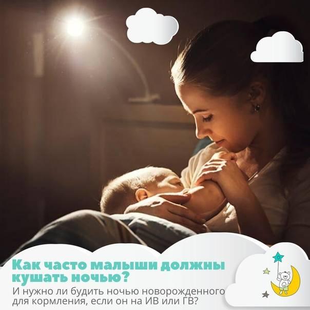 Как разбудить новорожденного для кормления ночью, для купания (нужно ли будить)?