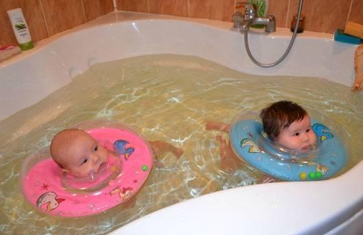 Плаваем с рождения
