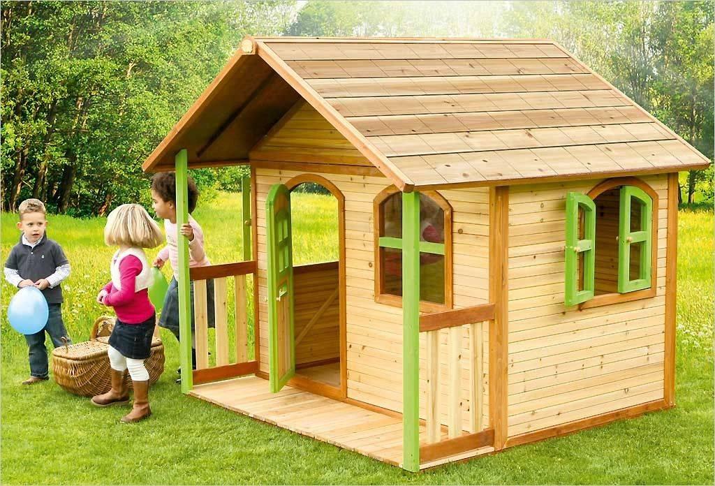 Детский домик для дачи: виды, особенности, материалы и инструменты для строительства, технология сооружения своими руками
