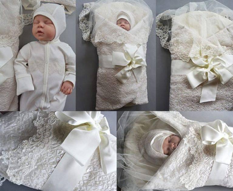 Одежда для новорожденного на выписку из роддома: модные комплекты по сезону