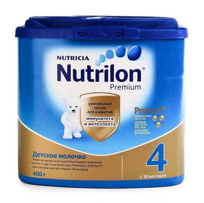 Смесь нутрилон: таблица с составом детского питания, виды (премиум, пепти и др) - мытищинская городская детская поликлиника №4
