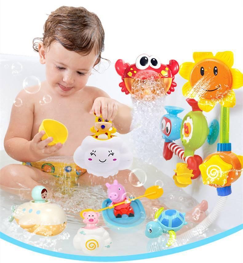 7 популярных игрушек для купания детей до 1,5 года
