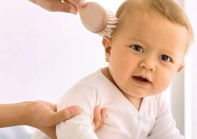 От пушка до локонов... волосы малыша и уход за ними