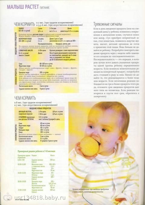 Как и со скольки месяцев можно вводить яйцо в прикорм ребенку