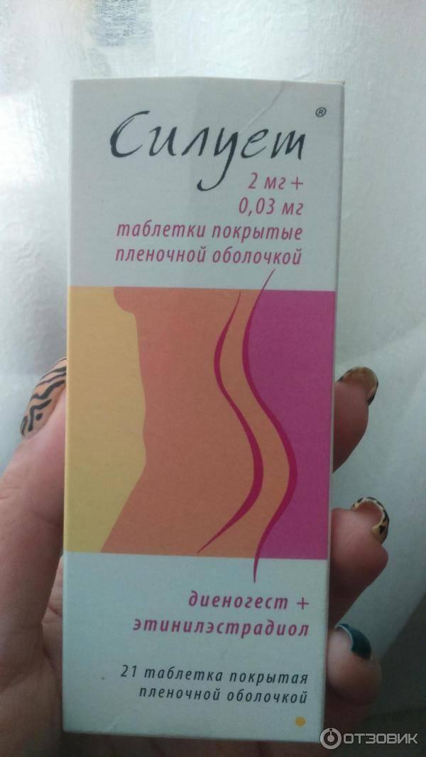 Противозачаточные силуэт:таблетки контрацептивы гормональные (оральные) последнего поколения