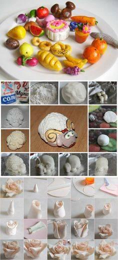 Поделки из солёного теста: пошаговая лепка фигурок из теста для начинающих, что можно слепить с ребёнком