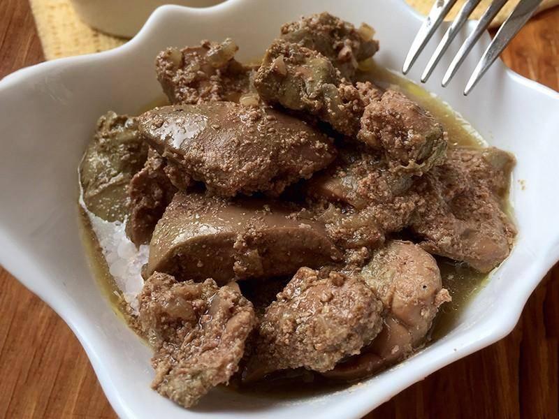 Как варить куриную печень для ребенка- рецепт пошаговый с фото