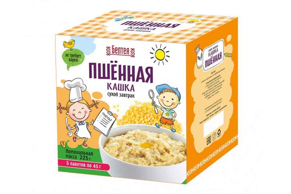 Пшенная каша: с какого возраста можно ребенку, как вводить в прикорм, польза